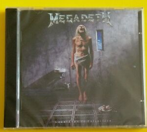 Megadeth-Countdown-To-Extinction-CD-Bonus-Tracks-NEW-SEALED-Remixed-amp-Remastered