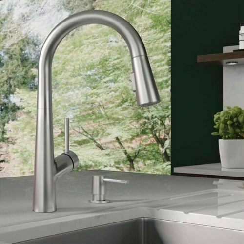 Hansgrohe 04217800 Talis C Bar Faucet Steel Optik