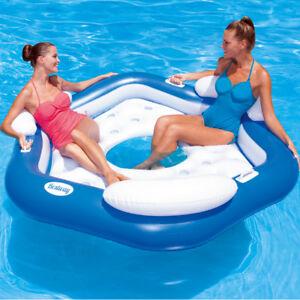 Symbol Der Marke Swimmreifen Luftmatratze Wasserliege Badespaß Strand Reifen Pool Wasser Luftmatratzen