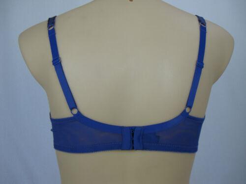 Elle Macpherson Intimate Decadent Underwire Bra sizes 10F Colour Blueberry