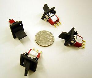 C-amp-K-U18-ON-ON-Mini-Toggle-Paddle-Actuator-SPDT-Lot-of-5