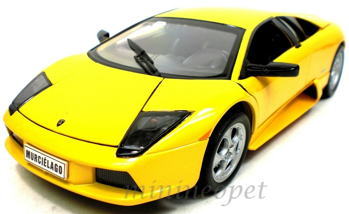 WELLY LAMBORGHINI MURCIELAGO 1 1 1 18 DIECAST YELLOW 12517W be89be