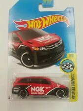 2017 Hot Wheels D Case Honda Odyssey Van Red Tuner JDM NGK 1:64