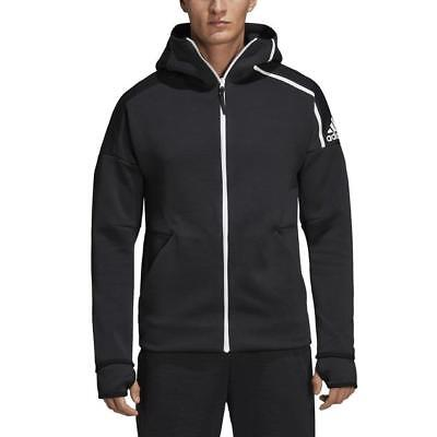 Fast Release Zipper Hooded Track Top Hoodie Feat Hombre adidas Z.n.e
