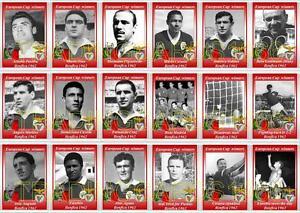 Los-Ganadores-Copa-Europea-Benfica-1962-futbol-Trading-Cards