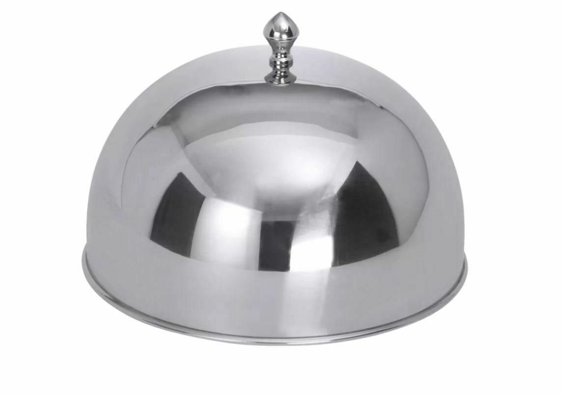 Direct Direct Direct Tableware Cloche Knob Heavy Gauge 18 10 Stainless Steel, 26cm ffcae7