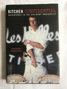 Kitchen-Confidential-6th-Printing-Anthony-Bourdain-2000-HCDJ-Good-Used-Condition