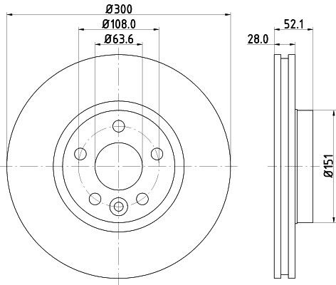 S-Max 2006-2015 Front 300mm Brake Discs /& Pads Mondeo 4 Galaxy For Ford