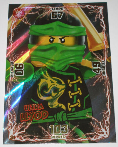 Ultra Lloyd Ultra Karte Ninjago TCG 1. Serie! Ninjago Trading Card Game TGC