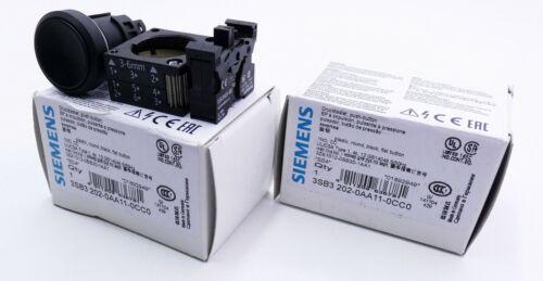 unused//OVP 04 Drucktaster 2x Siemens 3SB3 202-0AA11-0CC0 3SB3202-0AA11-0CC0 E