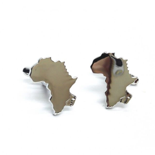 Outline Map Of Africa Country Cufflinks African Wedding Gift
