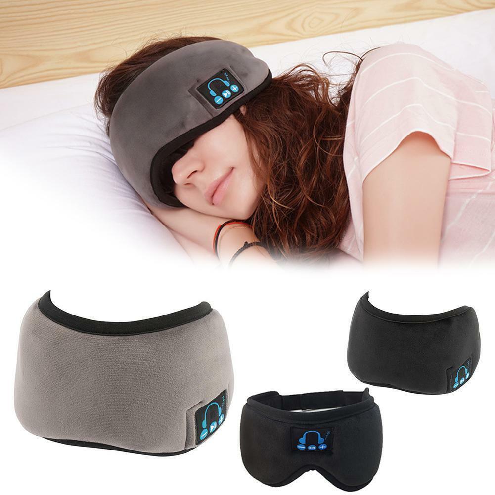 כיסוי עיניים לשינה חובק ראש עם אוזניות בלוטות'