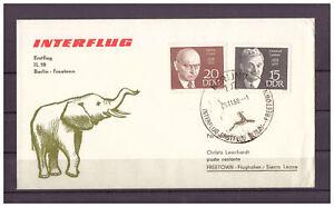 DDR-R-d-a-Il-18-Premier-Vol-Berlin-Freetown-Sst-Berlin-28-11-1969