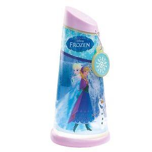 Disney-Frozen-Iluminan-Lampara-Mesilla-amp-INCLINABLE-Lampara-Antorcha-Iluminacion