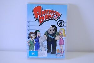American-Dad-Volume-6-3xDVD-family-guy-cleveland-show-simpsons-futurama-archer