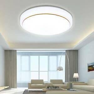 36w Modern 40 Cm Runde Led Deckenleuchte Badleuchte Kuche Wohnzimmer Deckenlampe Ebay