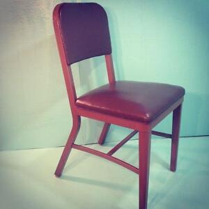 Vintage Industrial Steampunk Tanker Desk Chair | eBay