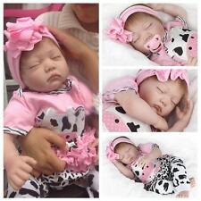 Reborn Baby Dolls 22 inch Real Life Sleeping Newborn Vinyl Silicone Toddler Doll