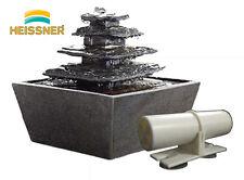 HEISSNER Aqua Wasserfilter Zimmerbrunnen Brunnen Wasseraufbereiter Zierbrunnen