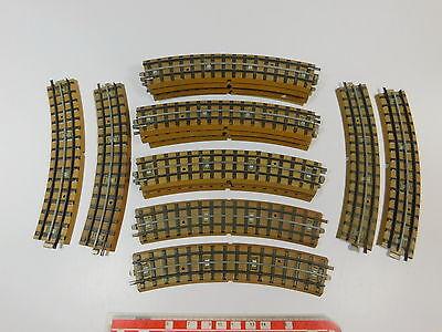 Dolce Aq34-1# 18x Märklin H0/ac Pezzo Di Binario Curvo F. 3600/800 M-binario-mostra Il Titolo Originale