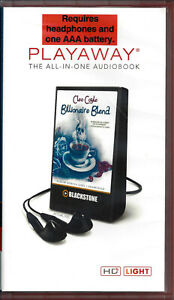 Billionaire-Blend-by-Cleo-Coyle-and-Rebecca-Gibel-Unabridged-Playaway-Audio-Book