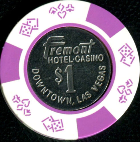$1 Las Vegas Fremont Obsolete Casino Chip Near Mint