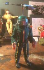 Vintage Action Man Turbo Copter Pilot & Eagle Eye Figure
