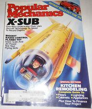 Popular Mechanics Magazine X-Sub One-Man Underwater Flyer April 1990 080814R