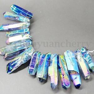 10-15Pcs-Rainbow-Aura-Titanium-Coated-Quartz-Crystal-Rough-Mineral-Specimen