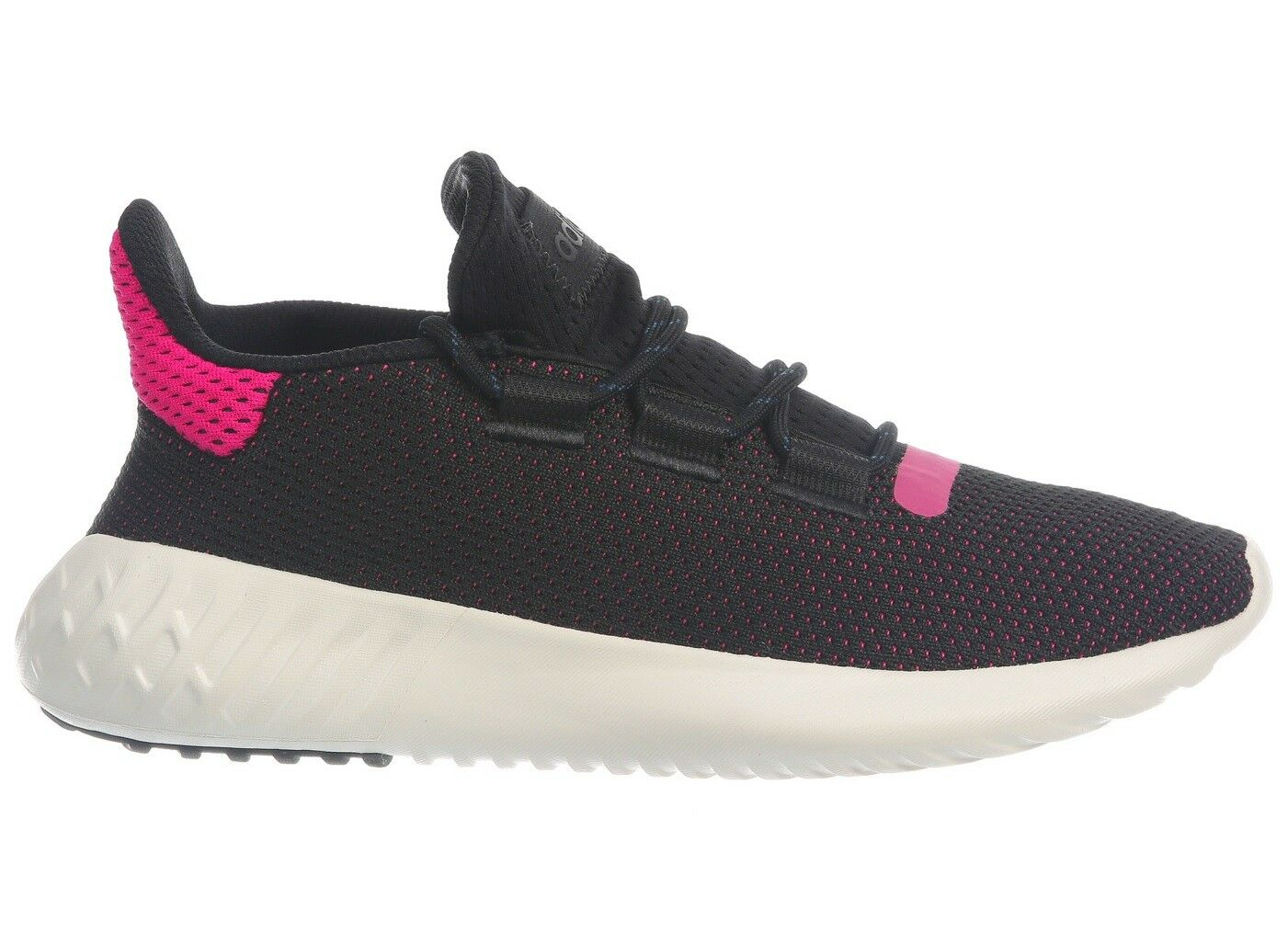 Adidas Tubular Dusk Primeknit Womens AQ1198 Black Pink Athletic shoes Size 8.5