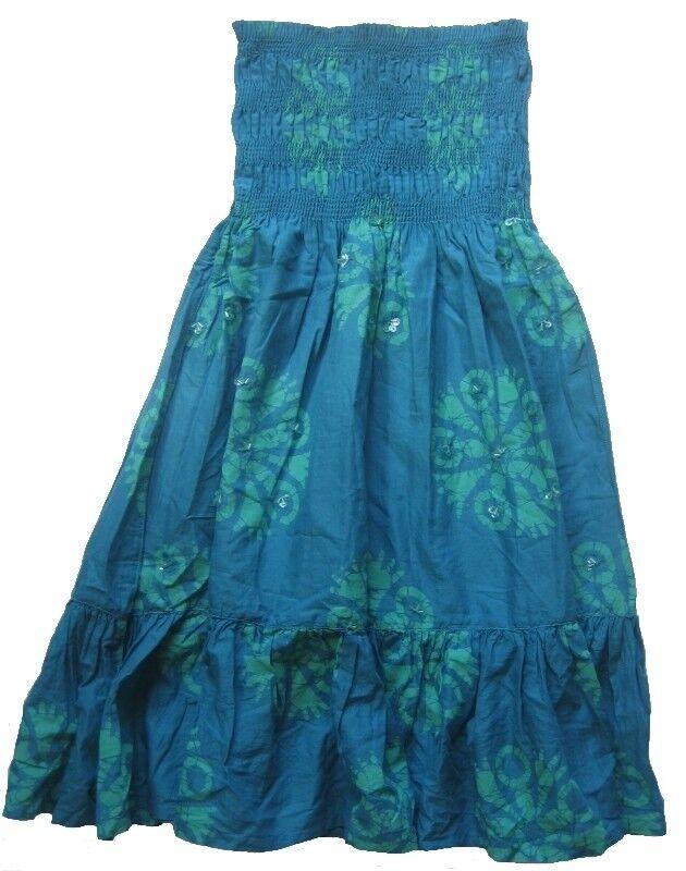 MODA INTERNATIONAL Ärmeloses Kleid Gr. XS bluetöne