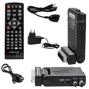 MINI-dvb-t2-terrestri-Receiver-h-265-HEVC-HDTV-da-campeggio-mobile-SCART-HDMI