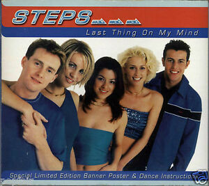 STEPS-LAST-THING-ON-MY-MIND-1998-EU-DIGIPAK-w-POSTER-CLAIRE-FAYE-H-LEE-LISA