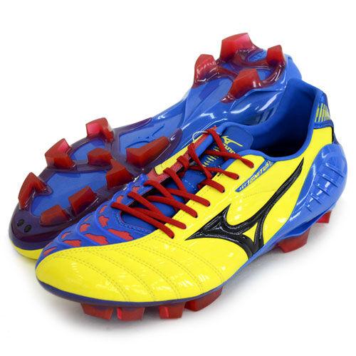 Mizuno JAPAN WAVE IGNITUS 3 SL Soccer Football schuhe Stiefel 12KP311 Gelb