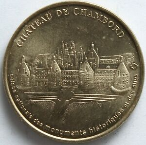 JETON-MDP-CHATEAU-DE-CHAMBORD-1998