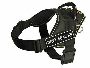 Navy-Seal-K9-Work-Harness-Extra-Small-with-LEASH