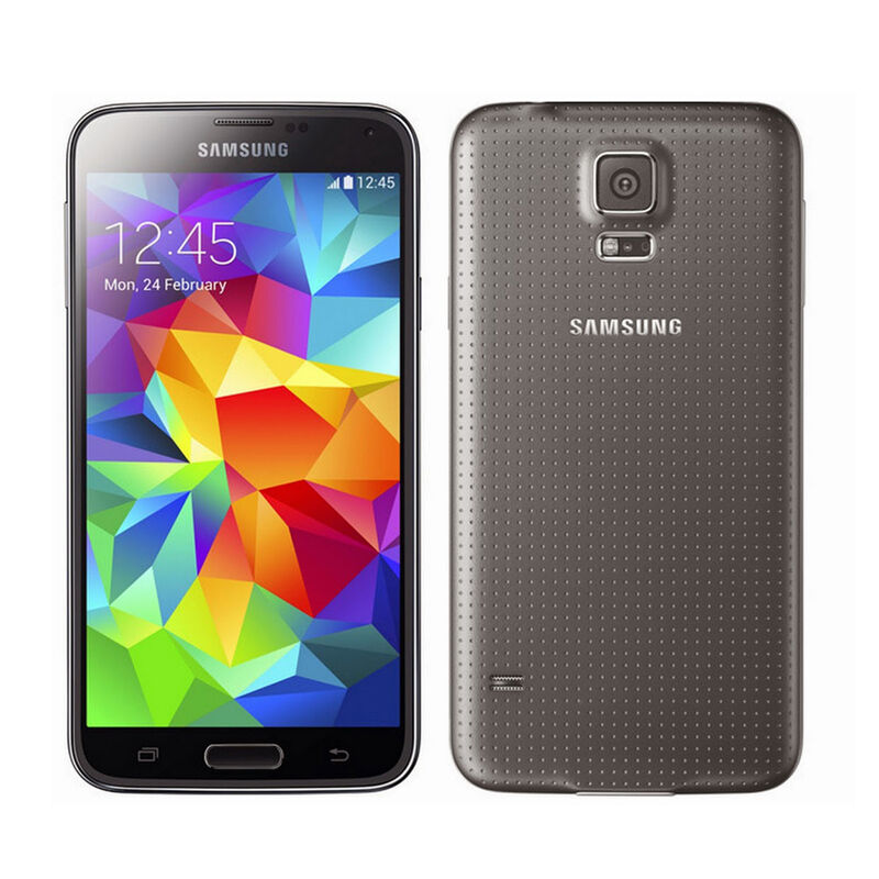 **New** Samsung Galaxy S5 SM-G900 16GB + GSM Unlocked Cellphone AT&T T-Mobile
