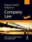 Mayson, French & Ryan on Company Law by Stephen Mayson, Christopher L. Ryan, Derek French (Paperback, 2013)