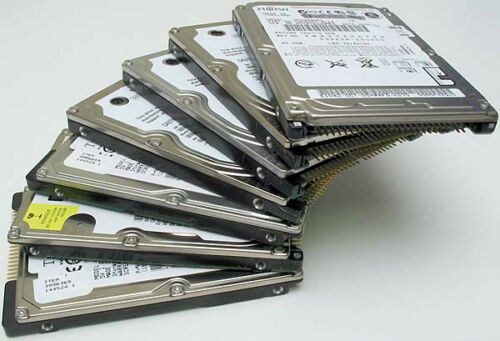 "Lot of 25 pcs 30GB IDE 2.5/"" laptop hard drives"
