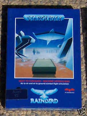 Starglider Atari STE NIB New By Rainbird//Firebird