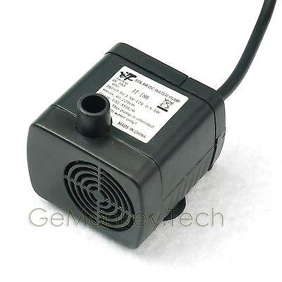 12VDC 5W Pump Motor For Cooling System Fish Tank Acquarium 300 L/H