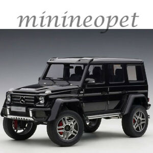 Autoart 76317 Mercedes Benz G 500 4 X 4 2 1 18 Model Car Gloss Black