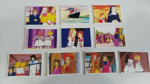 CANDY CANDY LOTE 3 DE 10 CROMOS 1986 TOEI ANIMATION TRADING FIGURINES CARDS