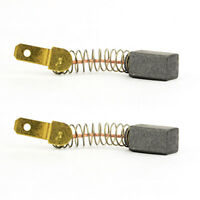 Aftermarket Japanese Carbon Brush Set Replaces Porter Cable 876345 2/pk - R08