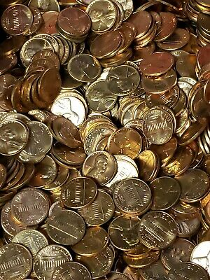 1976-D Lincoln Memorial cent pennies Choice//Gem BU Roll Uncirculated 50