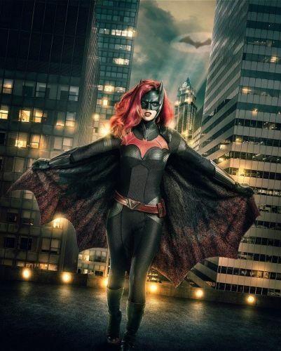 G-624 Batwoman Fabric Poster Ruby Rose Superhero TV Series 20x30 24x36