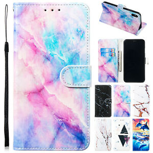 For-iPhone-6-5s-8-Plus-7-XS-Max-XR-Case-Pattern-Magnetic-Flip-Leather-Slot-Cover