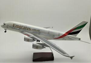 LED-Light-45cm-A380-Emirates-Airlines-Dubai-UAE-Airbus-Aeroplane-Plane-Metal