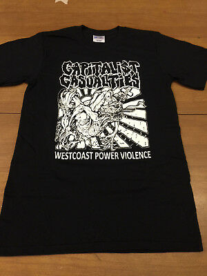 Punk,Infest,No Comment Capitalist Casualties Shirt Grindcore CROSSED OUT