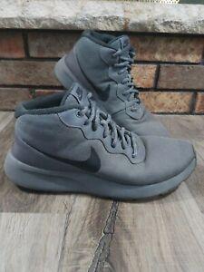 Nike-Tanjun-Chukka-Dark-Grey-Black-858655-002-Mens-9-Water-Repellent-Reflective